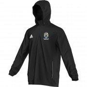 Normanby Park CC Adidas Black Rain Jacket