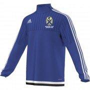 Normanby Park CC Adidas Blue Junior Training Top