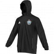Millom CC Adidas Black Rain Jacket