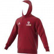 Luton Town & Indians CC Adidas Red Junior Hoody (adult sizes)