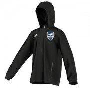 Pirton CC Adidas Black Rain Jacket