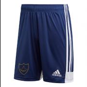 Wandsworth Cowboys CC Adidas Navy Junior Training Shorts