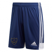 Wandsworth Cowboys CC Adidas Navy Training Shorts