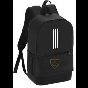 Wandsworth Cowboys CC Black Training Backpack
