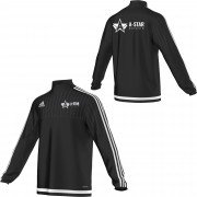 A-Star Cricket Adidas Black Training Top