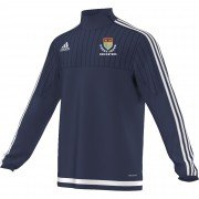 Gwent Young Cricketers Adidas Navy Training Top