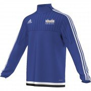 Audley End CC Adidas Blue Training Top
