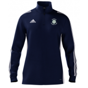 Darfield CC Adidas Navy Zip Training Top