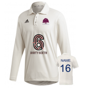 Witley CC Adidas Elite Long Sleeve Shirt