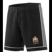 East Horsley CC Adidas Black Training Shorts