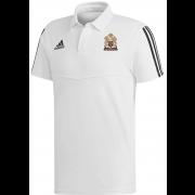East Horsley CC Adidas White Polo