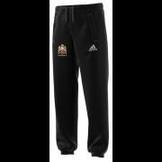 East Horsley CC Adidas Black Sweat Pants