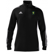 Locksbottom CC Adidas Black Zip Junior Training Top