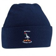 Burnley CC Navy Beanie