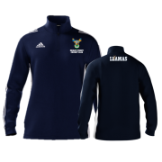 Reigate Priory CC Adidas Navy Zip Junior Training Top