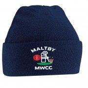 Maltby Miners Welfare CC Navy Beanie