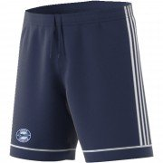 Lostock CC Adidas Navy Junior Training Shorts