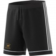 Eversley CC Adidas Black Junior Training Shorts