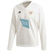 Shipton Under Wychwood CC Adidas Elite Long Sleeve 3rds and 4ths Playing Sweater