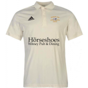 Shipton Under Wychwood CC Adidas Pro Junior Short Sleeve Polo
