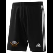 Shipton Under Wychwood CC Adidas Black Junior Training Shorts