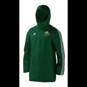 Shipton Under Wychwood CC Green Adidas Stadium Jacket