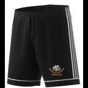 Shipton Under Wychwood CC Adidas Black Training Shorts