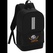 Shipton Under Wychwood CC Black Training Backpack