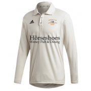 Shipton Under Wychwood CC Adidas Elite Long Sleeve Shirt