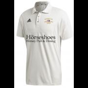 Shipton Under Wychwood CC Adidas Elite Junior Short Sleeve Shirt
