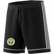 Notts and Arnold CC Adidas Black Junior Training Shorts
