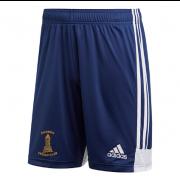 Darwen CC Adidas Navy Training Shorts