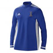Darwen CC Adidas Royal Blue  Zip Training Top