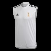Darwen CC Adidas White Training Vest