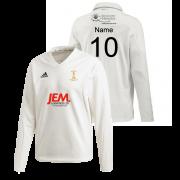 Darwen CC Adidas Elite Long Sleeve Sweater