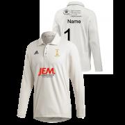 Darwen CC Adidas Elite Long Sleeve Shirt