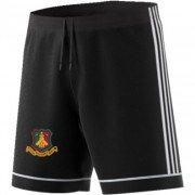 Ferguslie CC Adidas Black Junior Training Shorts
