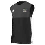 Clipstone and Bilsthorpe CC Adidas Black Training Vest