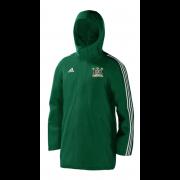 Clipstone and Bilsthorpe CC Green Adidas Stadium Jacket