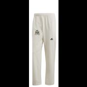 Clipstone and Bilsthorpe CC Adidas Elite Junior Playing Trousers