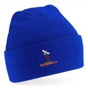 Saltburn CC Blue Beanie