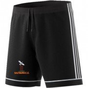 Saltburn CC Adidas Black Junior Training Shorts