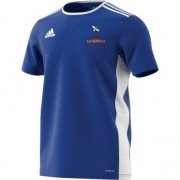 Saltburn CC Adidas Blue Junior Training Jersey