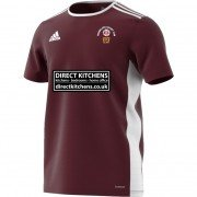 Thorncliffe CC Adidas Maroon Training Jersey
