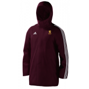 Egerton Park CC Maroon Adidas Stadium Jacket