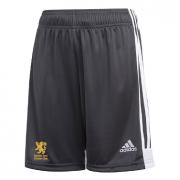 Egerton Park CC Adidas Black Junior Training Shorts