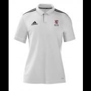Egerton Park CC Adidas White Polo