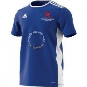 Burbage and Easton Royal CC Adidas Blue Training Jersey
