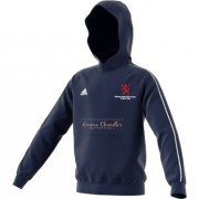 Burbage and Easton Royal CC Adidas Navy Junior Hoody