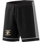 Frickley Colliery Welfare CC Adidas Black Junior Training Shorts